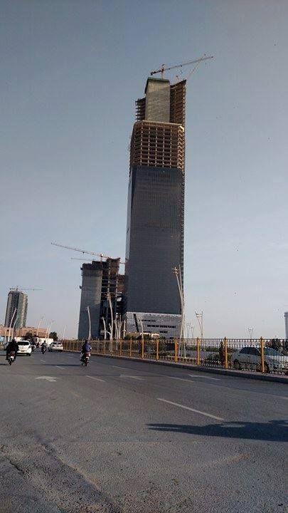 Bahria Icon Tallest building of Pakistan Under Construction
