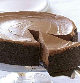 Easy Kitchen Recipes: Chocolate Velvet Cheesecake