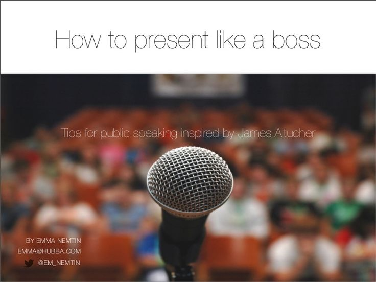 Ever wonder what makes a great presenter? Here are some quick tips for how to kill it during a presentation.