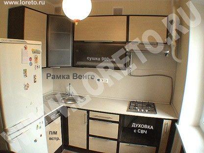кухонная мебель на заказ рамочный фасад венге фото 1