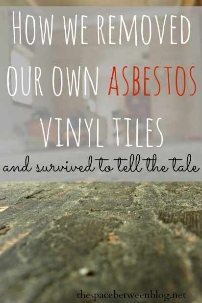 one DIYer's take on removing their own asbestos floor tiles with links to some great resources on the topic.  The important thing to consider is to not release the asbestos dust into the air.