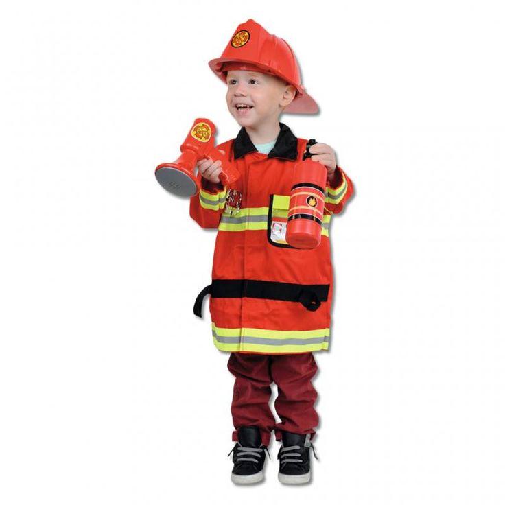 Feuerwehrmann Kostüm, W-81720