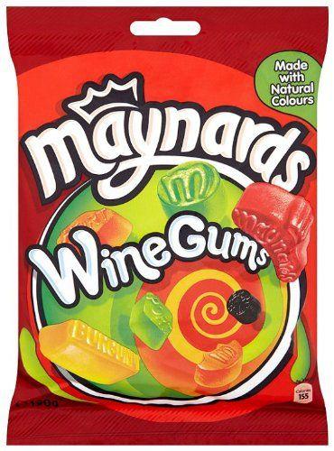 Maynards Wine Gums Bag 190 g (Pack of 6): Maynards Wine Gums 190g L'article Maynards Wine Gums Bag 190 g (Pack of 6) est apparu en premier…