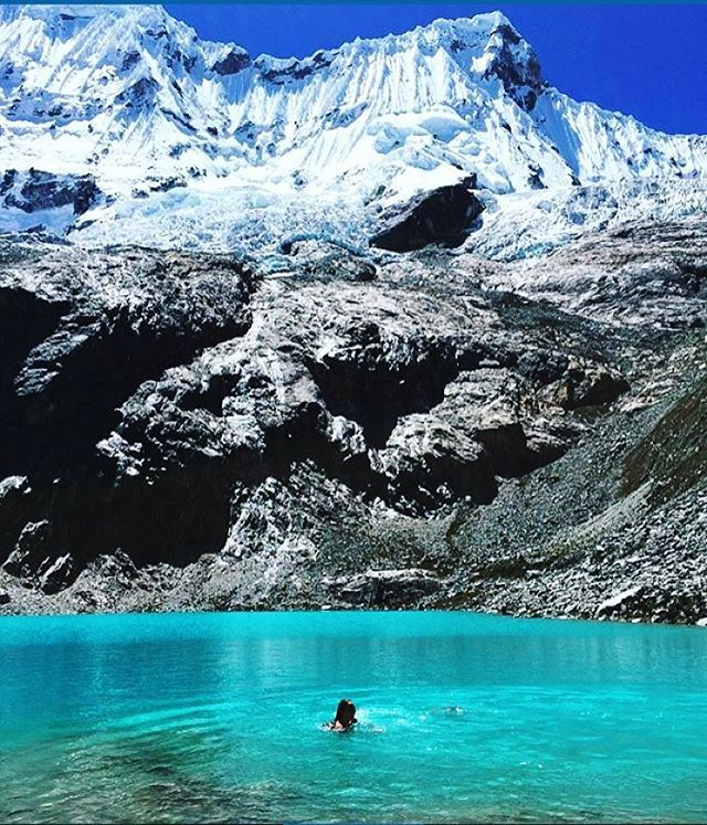 Laguna 69 - Huascaran National Park, Peru @sasha.teninty - #backpacker #peru #laguna69 #travel