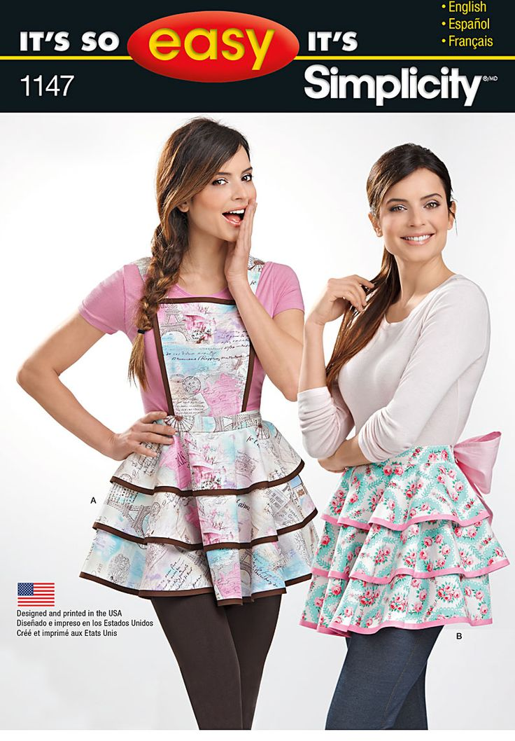30 besten [Patterns Collection] Aprons & Skirts Bilder auf Pinterest ...