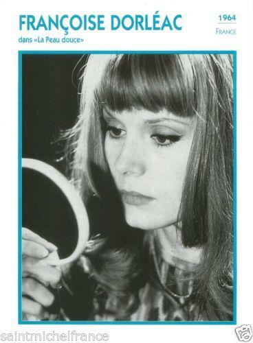 1.FRANҪOISE DORLÉAC ACTRICE ACTRESS FICHE CINEMA FRANCE 90s