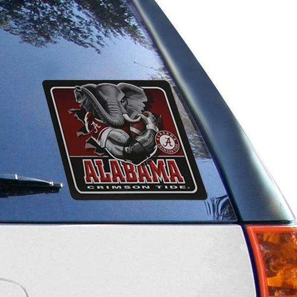Alabama Crimson Tide 7'' x 7.75'' Busting Out Decal - $9.99