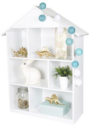 Alice&Fox bokhylla i vitt #jollyroom #aliceandfox #barnrumsinspo
