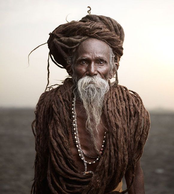 aghori baba long hairs