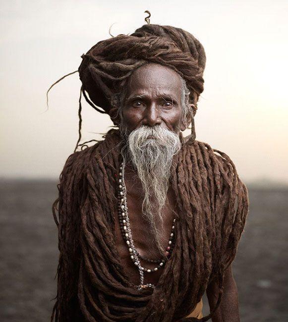 aghori baba long hairs