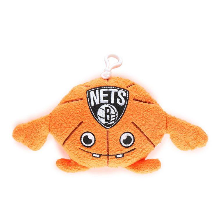 NEW JERSEY NETS Creatureball Plush Creature Backpack Bag Clip NBA Basketbal BNWT #BleacherCreatures #NewJerseyNets