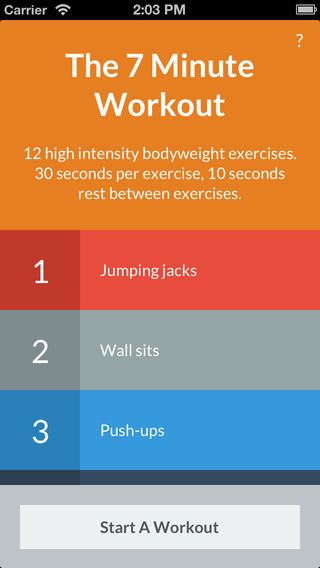 the 7 minute workout - bytesize apps - FREE