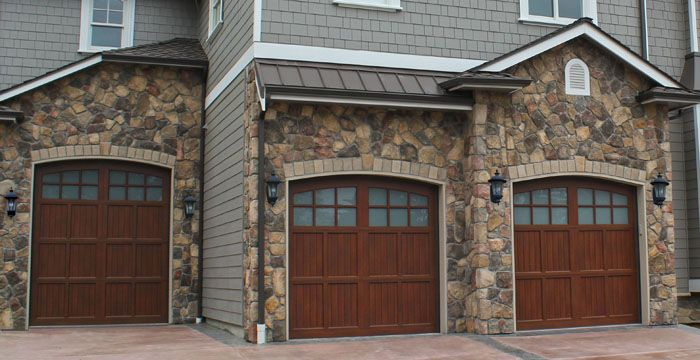 Image result for green house with walnut garage door & Image result for green house with walnut garage door | Garage Doors ...