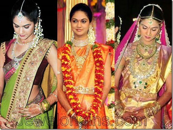 Sparkling Fashion: celebrities in bridal wear