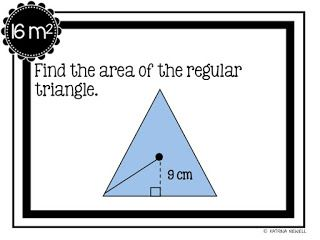 59 best geometry class activities images on pinterest math free area of regular polygons scavenger hunt fandeluxe Choice Image