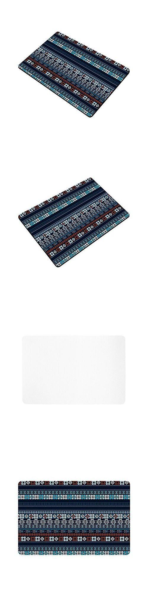 InterestPrint Ethnic Boho Anti-slip Door Mat Home Decor, Trible Art Indoor Outdoor Entrance Doormat Rubber Backing 23.6 X 15.7 Inches