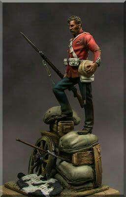 Survivor from Rorkes Drift, 1879