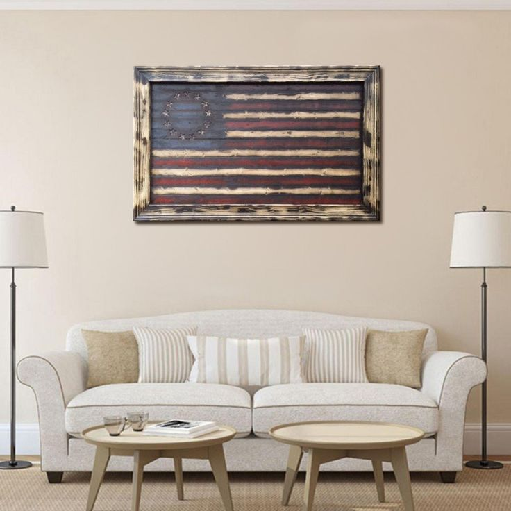 best Barn Wood Flag  on Pinterest