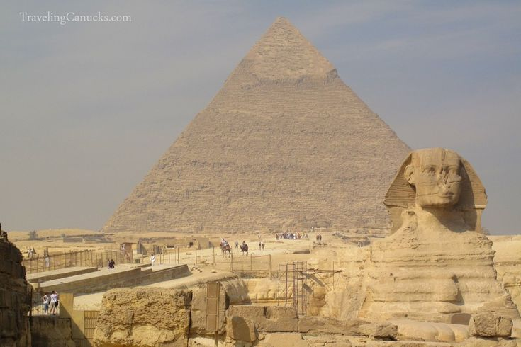 The Sphinx and the Great Pyramid of Giza | Egypt