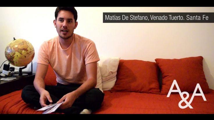 """Entrevista """"Aquí y Ahora Argentina"""" a Matías De Stefano"""