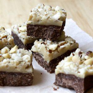 I Quit Sugar - Caramel Nut Slice