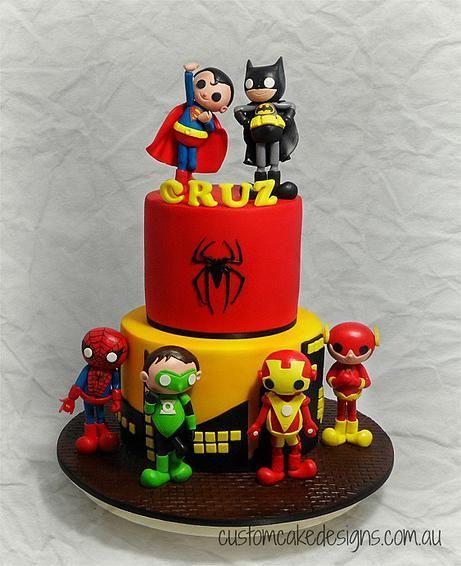 Cakes for Little Boys - Custom Cake Designs Perth