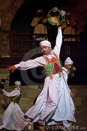 SUFI WHIRLING DERVISHES, CAIRO, EGYPT by Kinglau, via Dreamstime