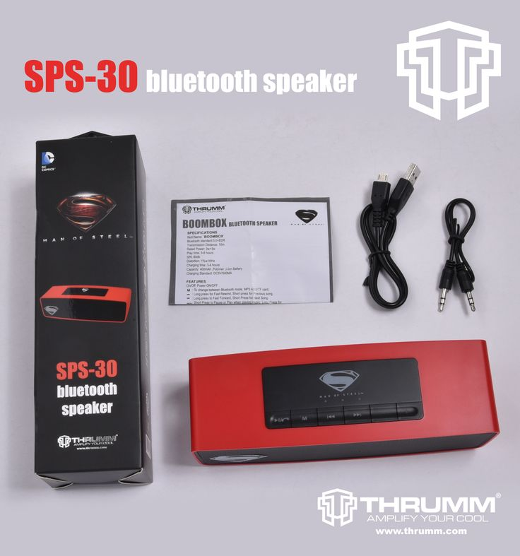 SPECIFICATIONS:  Bluetooth Version	: Bluetooth 2.1+EDR Operation Range	: Upto 10m Power Rating	: 3.7V DC		: 5V Sensitivity		: ≥85db Frequency Response	: 50Hz-18KHz Power Supply	: 600mAh Lithium-ion Battery Output Power	: 3W x 2