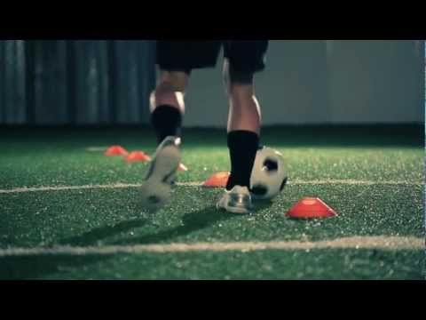 Soccer Dribbling Drill #1