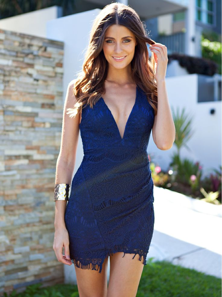 New Arrivals   Womens Clothes, Clothing & Fashion   Online Shopping - Mura Boutique Navy Lace Dress