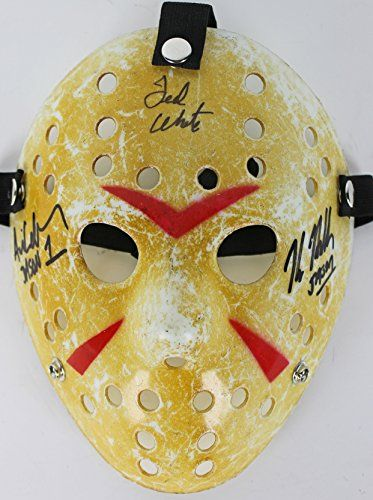 Kane Hodder Ted White & Ari Lehman Signed Friday The 13th Jason Mask PSA/DNA 1 @ niftywarehouse.com