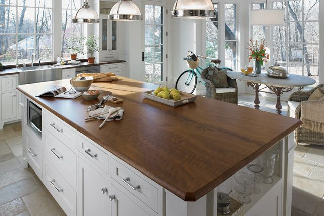 Use formica for a high gloss finish, maximum smoothness and reflectance