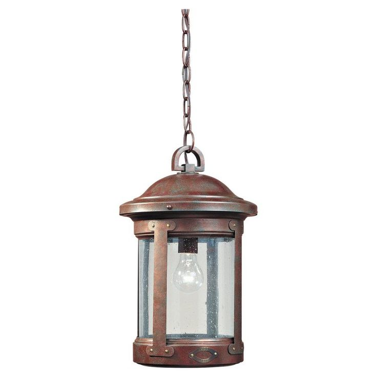 Fryeburg 1-Light Outdoor Hanging Lantern