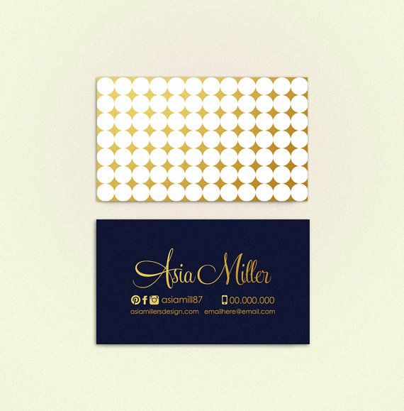 Asia v2  double sided business card  Instant by deideigraphic
