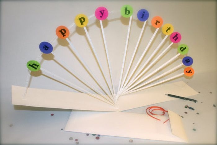 Carnival Style Pop Up Birthday Card