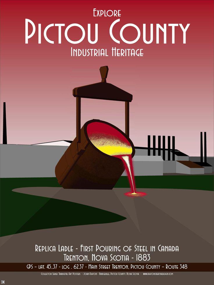 Collector Series Tradigital Art Posters  By John Ashton of Bridgeville, Pictou County