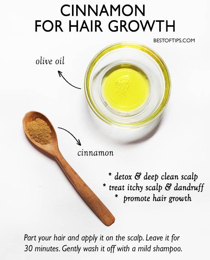 CINNAMON HAIR MASK FOR HAIR GROWTH