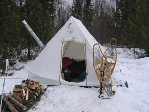 winter c&ing in a hot tent & Best 25+ Winter tent camping ideas on Pinterest | Winter camping ...