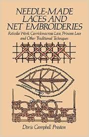 Resultado de imagen para needle made lace and net embroideries