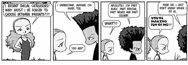 The Boondocks Comic Strip, May 05, 1999 on GoComics.com