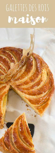 Recettes de galettes des rois maison qui changent : à la frangipane mais pas seulement ! Découvrez également la version aux pommes, aux pralines roses ou au chocolat !