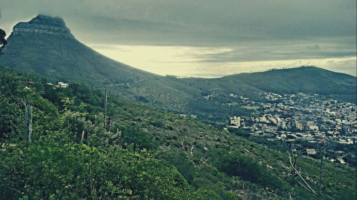 Beautiful View Of Lionshead In Cape Town.