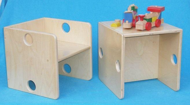 kubusstoel voor kleuters van dijk toys