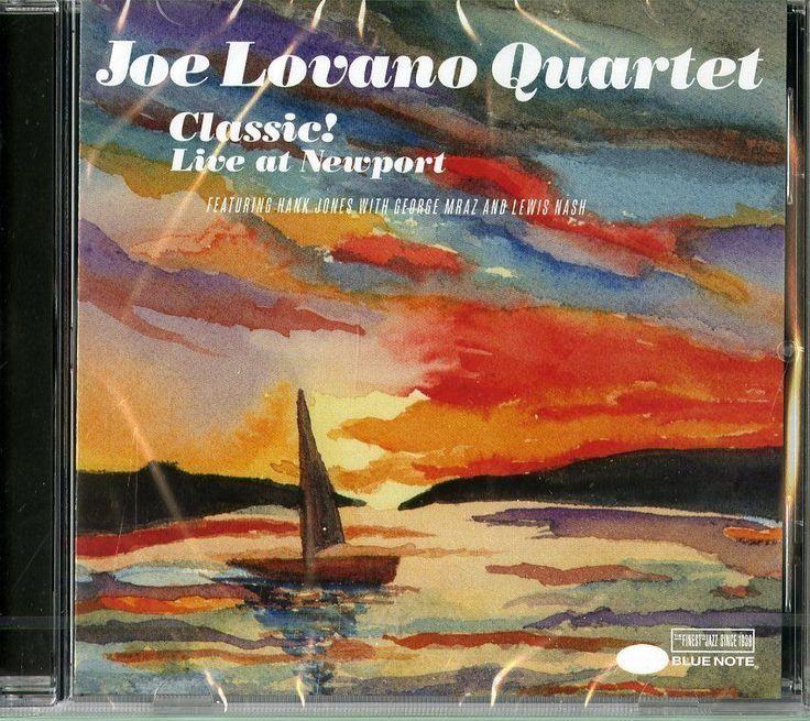 JOE LOVANO QUARTET - CLASSIC LIVE AT NEWPORT http://ebay.eu/2aD6ZsK