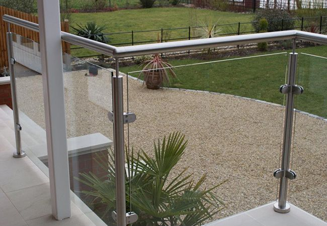 glass #balustrades, outdoors