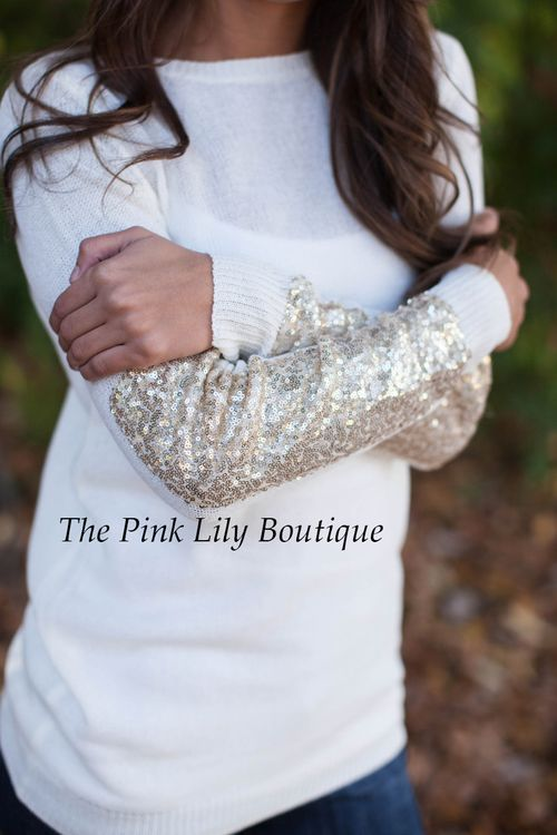 Arm Candy Sweater!