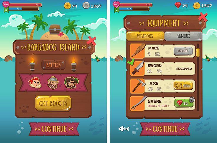 Pirate saga on Behance