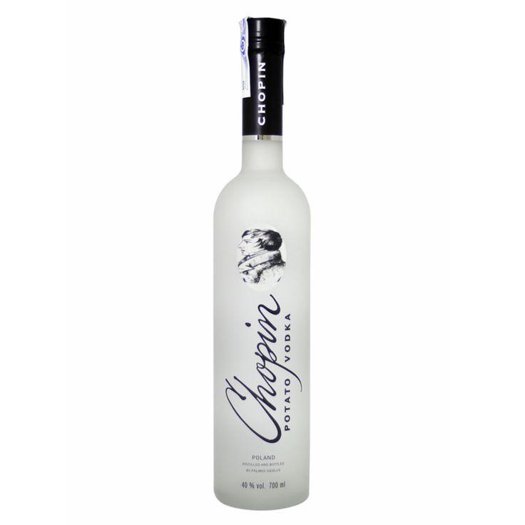 Best Potato Vodka Brand Logo: Chopin Potato Vodka