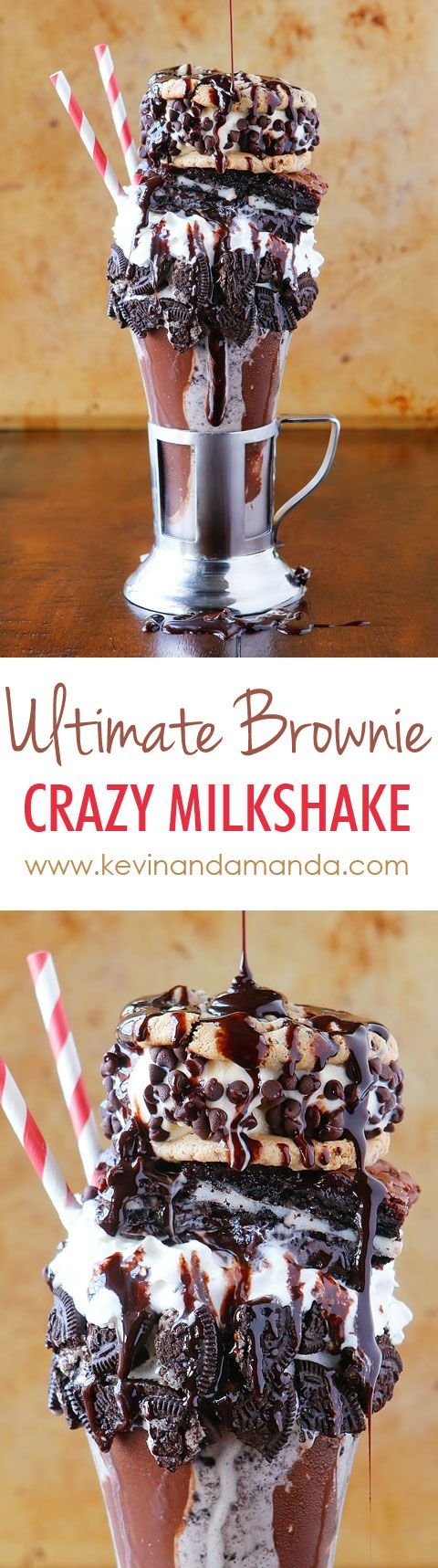 Crazy milkshakes are all the hype in NYC, London, and Australia. Now you can skip the cross country flight AND 4-5 hour wait in line and make them right at home!! Such a fun idea for a party. MUST try (Chocolate Milkshake For One)