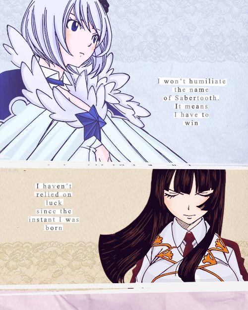 Fairy Tail 280 Kagura vs Yukino lineart by i-azu on DeviantArt